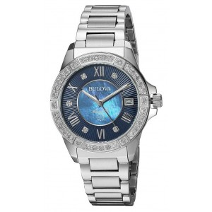 BULOVA MARINE STAR DIAMOND 96R215